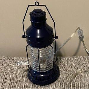 Pottery Barn Kids Navy Blue Electric Lantern Lamp